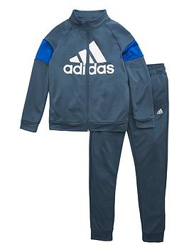 adidas Originals Adidas Originals Childrens Badge Of Sport Tracksuit - Blue Picture