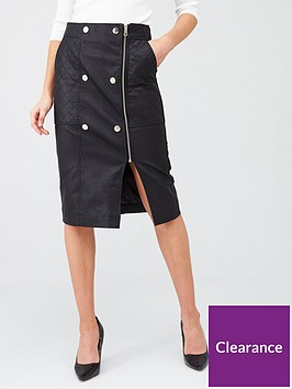 river-island-quilted-popper-pu-pencil-skirt-black