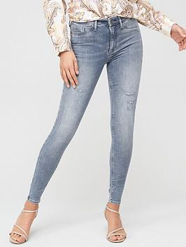 River Island River Island Mid Rise Molly Jegging - Grey Picture