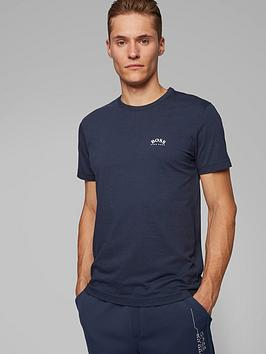 boss-curved-logo-t-shirt