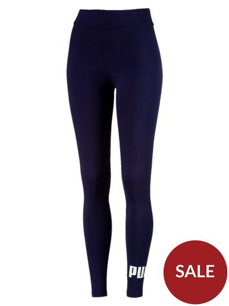puma-essentialsnbsplogo-legging-navy