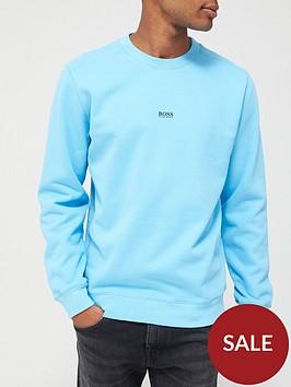 boss-weevo-centre-logo-sweatshirt-sky-blue