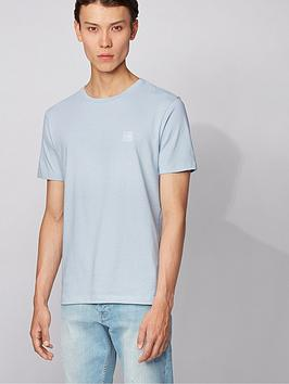 boss-tales-chest-logo-t-shirt-pastel-blue