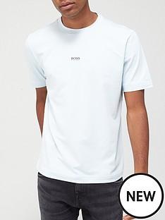boss-tchup-centre-logo-t-shirt-pastel-blue