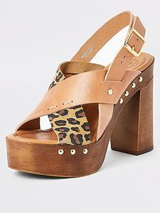river-island-leather-cross-strap-platform-sandal--nbspbrown