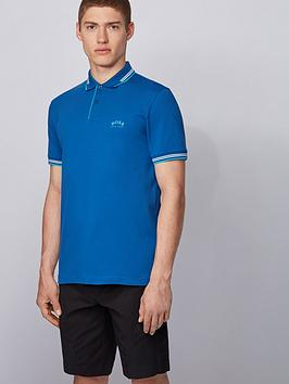 boss-paul-curved-logo-tipped-collar-polo-shirt-open-blue