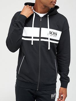 boss-bodywear-authentic-zip-through-hoodie-black