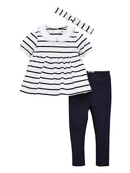 v-by-very-baby-girls-short-sleeve-stripe-collar-detail-top-headband-and-legging-set-multi