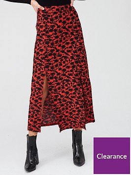 river-island-printed-tiered-jersey-midaxi-skirt-red