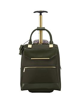 Ted Baker Ted Baker Albany Whld Business Trolly Olive Picture