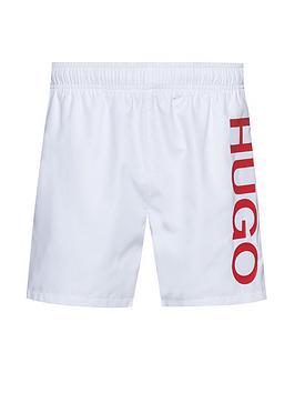 hugo-abas-logo-swim-shorts-white
