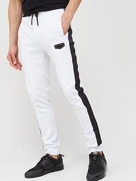 Supply & Demand Supply & Demand Prestige Side Stripe Joggers - White Picture