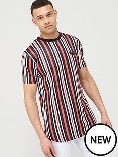 supply-demand-pinstripe-t-shirt-multi