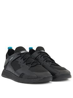 boss-titanium-runner-trainers-black