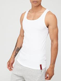 hugo-idol-tank-top-white