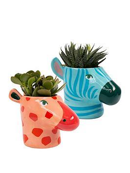 Fizz   Animal Plant Pots