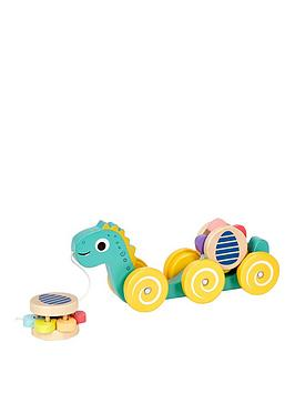Little Tikes Little Tikes Wooden Critters Pull Toy - Dino Picture