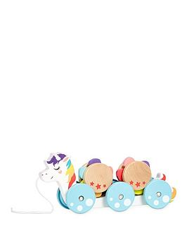 Little Tikes Little Tikes Wooden Critters Pull Toy - Unicorn Picture