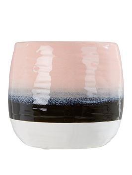 Premier Housewares Premier Housewares Caldera Tie Dye Effect Planter Picture