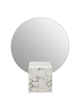 Premier Housewares Premier Housewares Mimo Faux Marble Mirror Picture