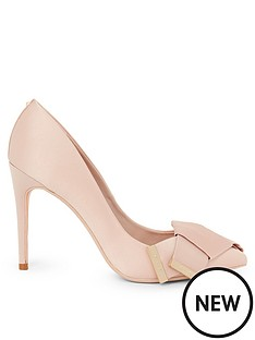 ted-baker-linesi-satin-bow-detail-court-nudepink