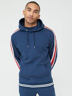 v-by-very-sports-tape-overhead-hoodie-navy