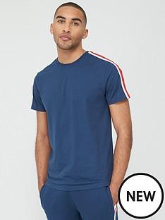 v-by-very-sports-tape-short-sleeve-t-shirt-navy