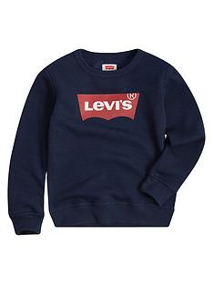 levis-boys-batwing-crew-neck-sweat-navy