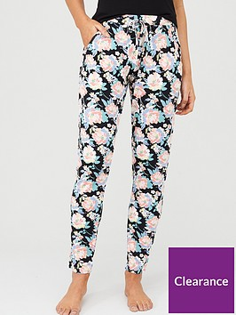 v-by-very-mix-amp-match-floral-pyjamanbspjoggers-black-floral