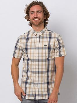 Animal Animal Switches Short Sleeve Shirt - Cream Picture