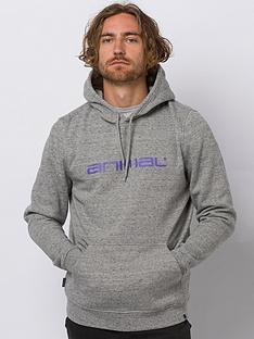 animal-driver-hoodie-grey-marl