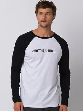 Animal Animal Long Sleeve Action Graphic T-Shirt - Black Picture