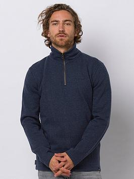 Animal Animal Stourton Track Top - Blue Marl Picture
