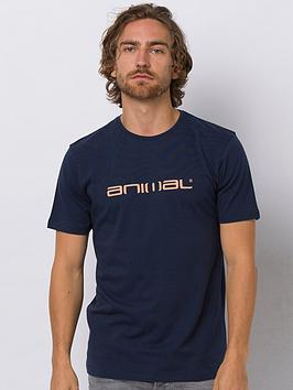 Animal Animal Classico Graphic Short Sleeve T-Shirt - Indigo Blue Picture