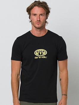 Animal Animal Stacked Graphic Short Sleeve T-Shirt - Black Picture