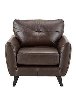 Very Boston Leather Armchair Picture