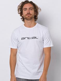 animal-classico-graphic-short-sleeve-t-shirt-white