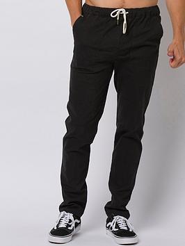 Animal Animal Osmington Beach Pants - Black Picture