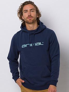 Animal Animal Driver Overhead Hoodie - Indigo Blue Picture