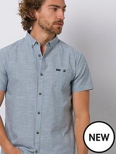 animal-fleck-short-sleeve-shirt-lead-grey
