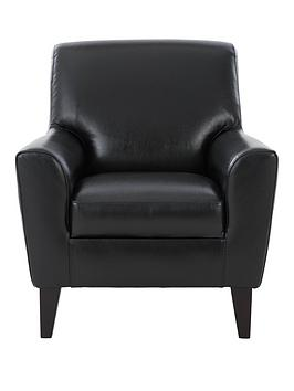 Very Warren Leather Armchair Picture