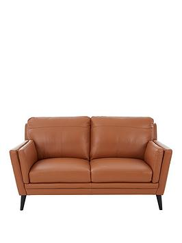 Very Lincoln Leather 2 Seater Sofa Picture