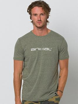Animal Animal Marrly Graphic Short Sleeve T-Shirt - Olive Picture