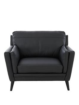 Very Lincoln Leather Armchair Picture