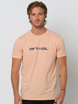 Animal Animal Marrly Graphic Short Sleeve T-Shirt - Coral Picture