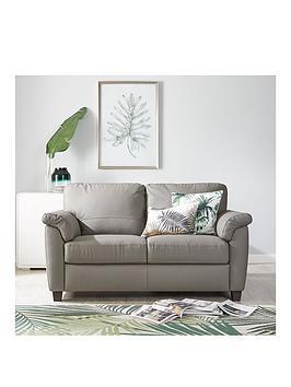 Very  Arizona Leather 2 Seater Sofa