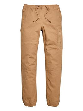 V by Very V By Very Boys Cuffed Cargo Trousers - Tan Picture