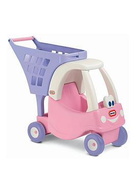 Little Tikes Little Tikes Princess Cozy Coupe Shopping Cart Picture