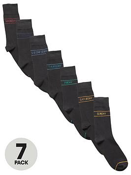 V by Very V By Very 7 Pack Days Of The Week Socks Picture