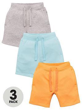 V by Very V By Very Boys 3 Pack Jog Shorts - Multi Picture